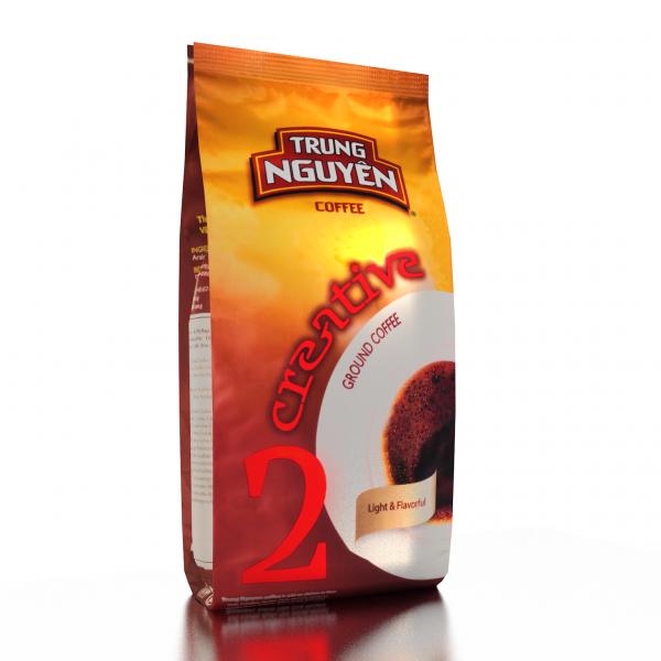 Kaffe Creative 2 Vietnamesiskt Trung Nguyen malet