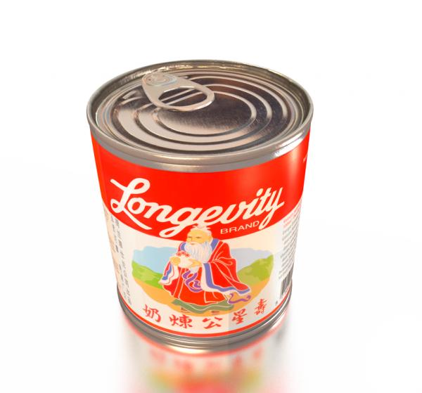Sötad Kondenserad mjölk Vietnamesisk Longevity