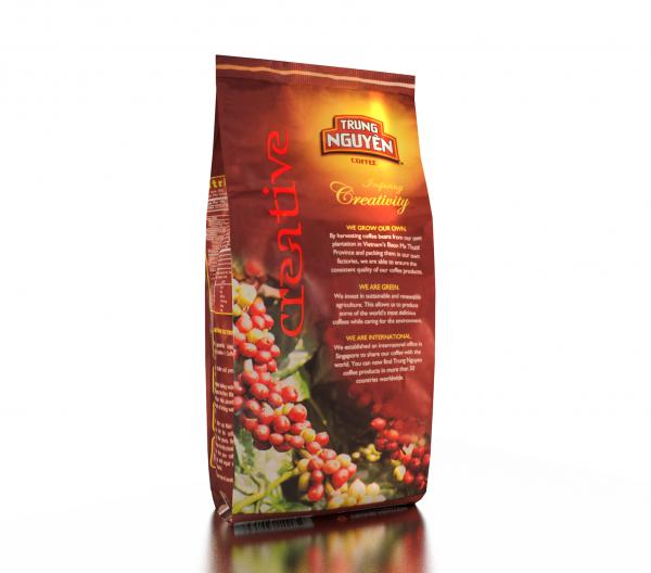 Kaffe Creative 5 Vietnamesiskt Trung Nguyen baksida